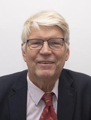 Bilde av varaordfører Finn Bjørn Rørvik tatt ifm det konstituerende kommunestyremøtet 10.10.19