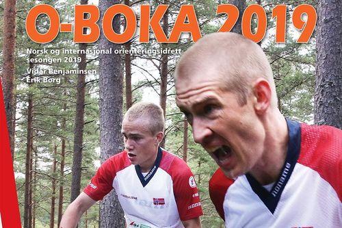 O-boka 2019 preges av kometen Kasper Fosser og Olav Lundanes, gutta som tok dobbeltseier på VM langdistanse i orientering i Norge og Østfold i høst.