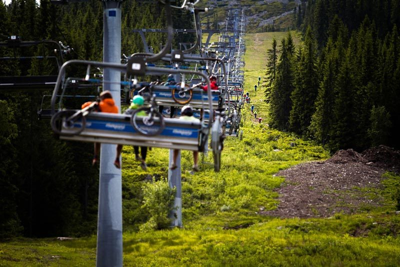 Stisykling i Trysil. Foto: Andreas Fausko / Trysil.