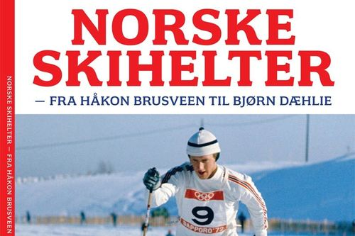 Juleheftet Norske skihelter, basert på Thor Gotaas sin bok Først i løypa – historien om langrenn i Norge.