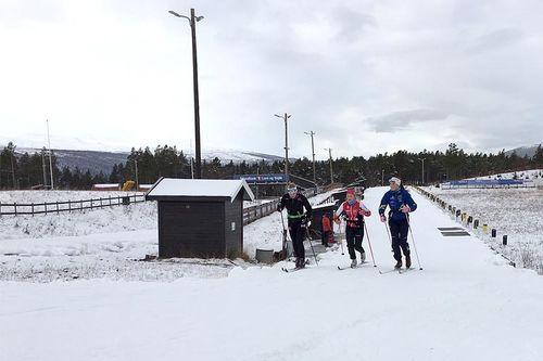 Dombås skiarena i oktober 2019. Foto: Steinar Tolf Jacobsen.