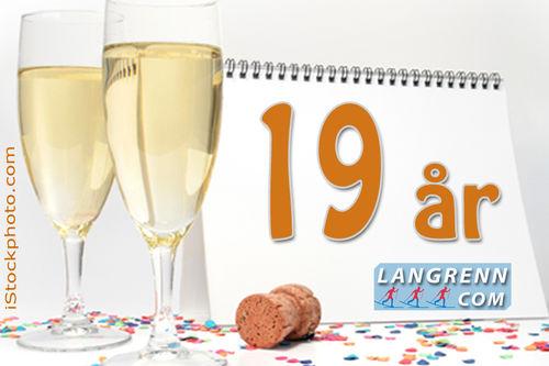 Langrenn.com fyller 19 år den 2. november 2019.