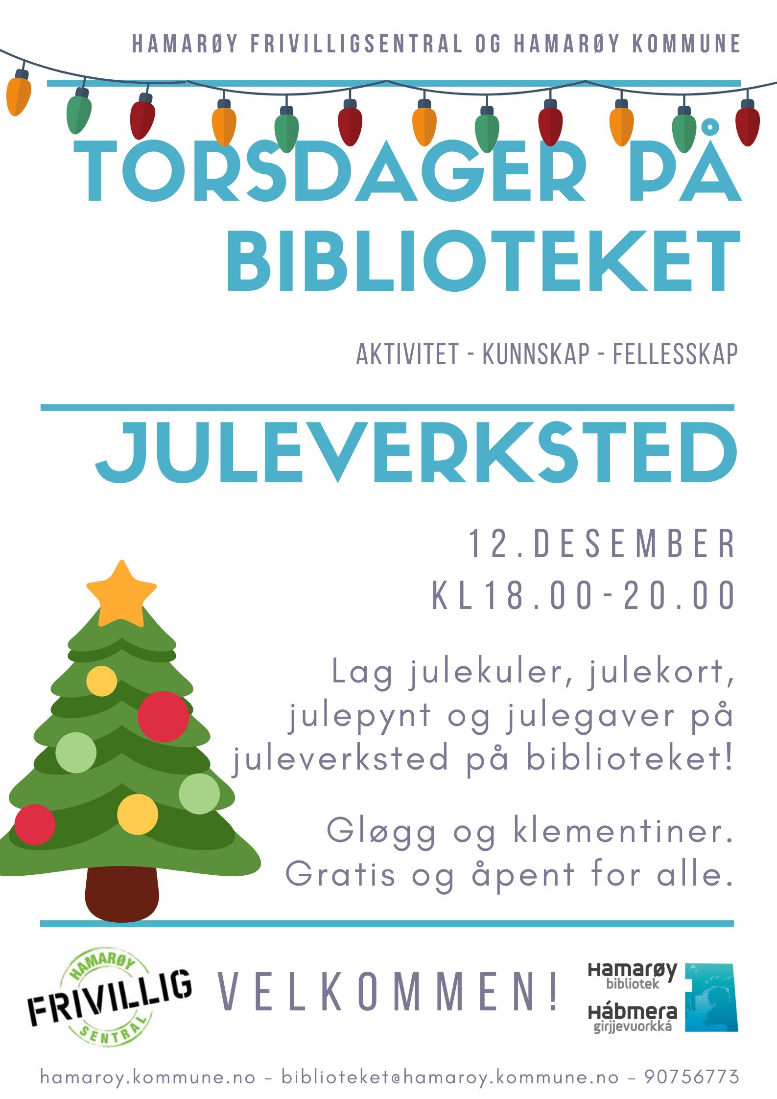 Torsdager på biblioteket juleverksted 2019.png