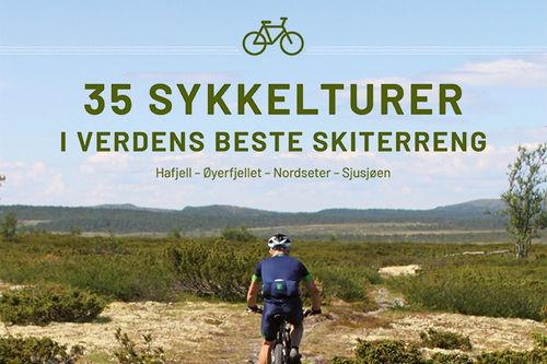 Boka 35 sykkelturer i verdens beste skiterreng. Hafjell, Øyerfjellet, Nordseter og Sjusjøen. Foto: Øyvind Wold.