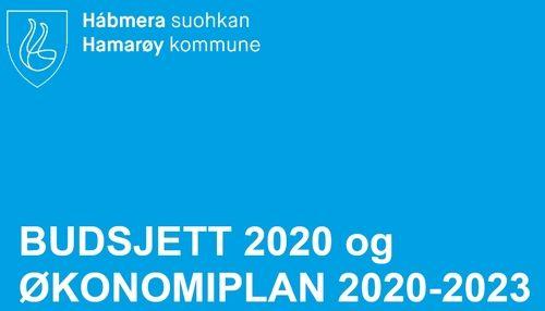 Forside budsjett og økonomiplan nye hamarøy