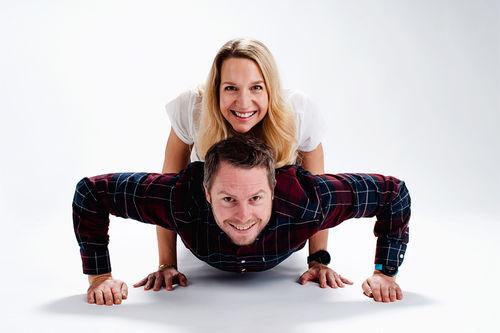 Melina Meyer Magulas og Eirik Myhr Nossum. Foto: Prestasjonsprat.