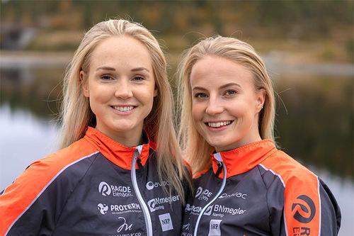 Emilie Fleten og Thea Krokan Murud i Team Ragde Eiendom. Foto: Børre E. Helgerud.