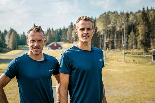 Anders og Jørgen Aukland fra Team Ragde Eiendom. Foto: XXL.