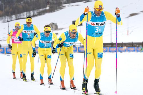 Team Koteng underveis i Visma Ski Classics. Foto: Magnus Östh / Visma Ski Classics.