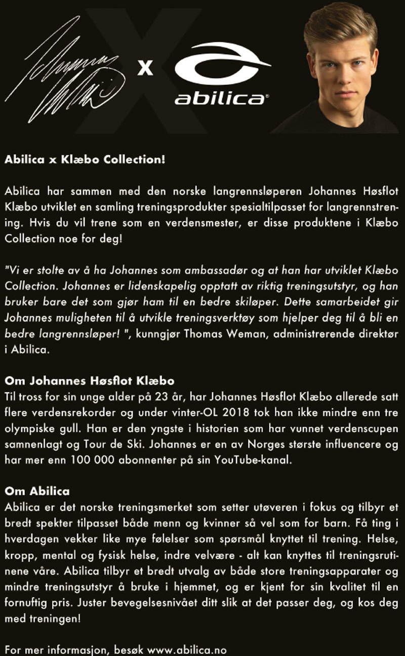 Klæbo Collection fra Abilica.
