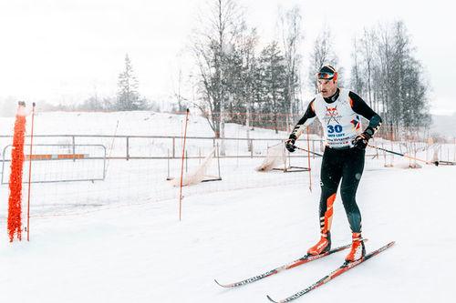Teemu Virtanen i Nordenskiöldsloppet. Foto: Oscar Sey / Red Bull Nordenskiöldsloppet.