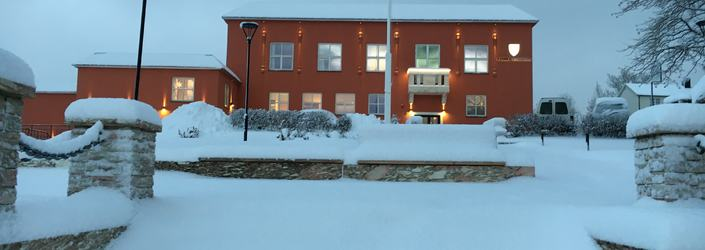 Rådhuset vinter