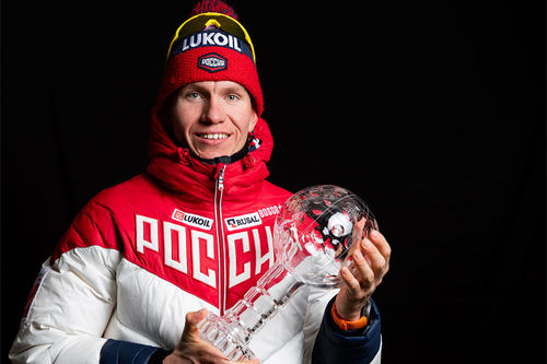 Alexander Bolshunov. Foto: Modica/NordicFocus.