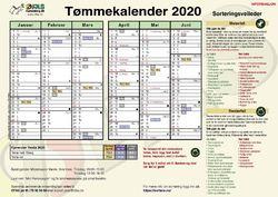Tømmekalender ØFAS 2020 1