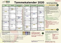 Tømmekalender ØFAS 2020 2