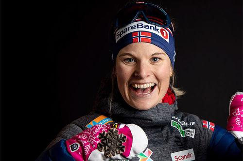 Mari Eide. Foto: GEPA-pictures / WSC Seefeld 2019 / NordicFocus.