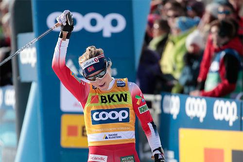 Therese Johaug. Foto: NordicFocus.