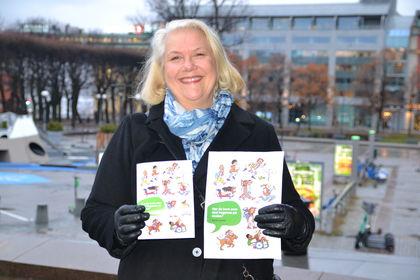 Gunn Iren Müller og overgangsbrosjyren