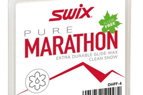 Swix Marathon white Fluor Free. Foto: Swix Sport.