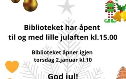Åpningstid jula19 HALV