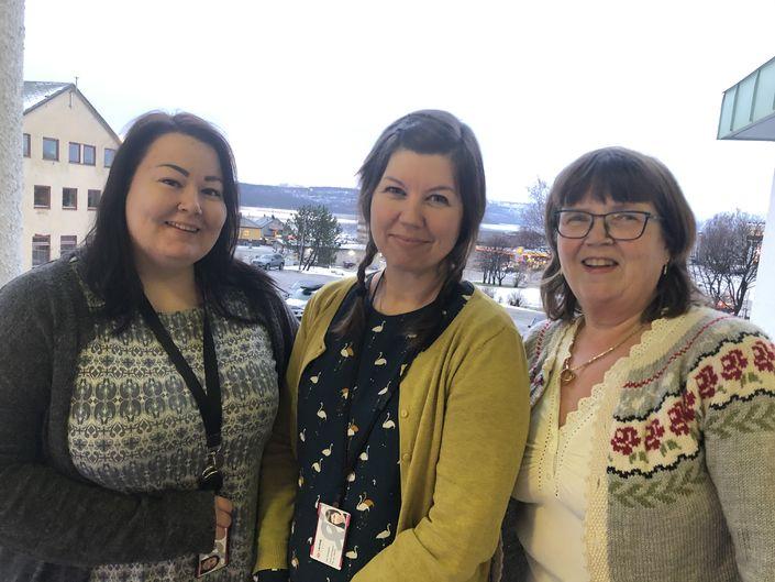 Aldersvennlig samfunn Gunn, Liss-Ane og Lena