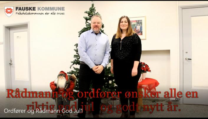 God jul fra ordfører og rådmann utklipp