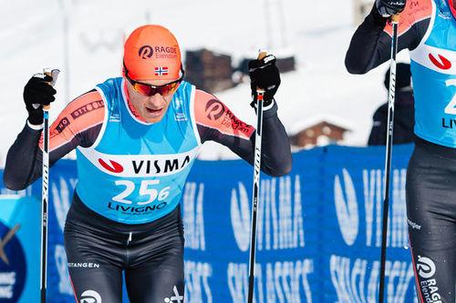 Petter Eliassen. Foto: Magnus Östh/Visma Ski Classics.