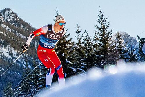 Går Tour de Ski i rakettfart. Foto: Modica/NordicFocus.