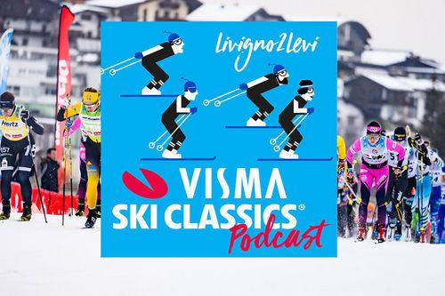 Podcast Livigno2Levi fra Visma Ski Classics.
