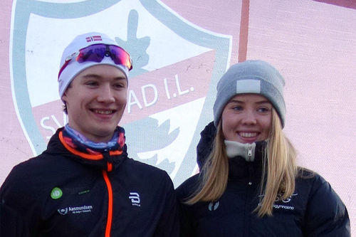 Johannes Lønnestad Flaaten og Ingerid Vadder. Foto: Privat.