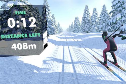 Grafikk fra Cross Country Skiing VR hos https://store.steampowered.com