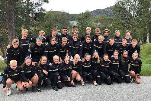 Elever ved Hovden Skigymnas. Foto: Privat.