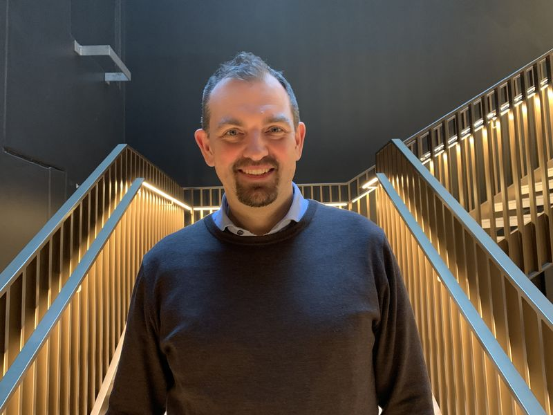 FUG-leder Marius Chramer trapp