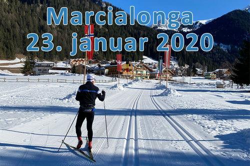 Langrenn.com sin partner, Swix Sport, er på plass under Marcialonga med blant andre smørespesialisten Magnus Kolstad. Foto: Privat.