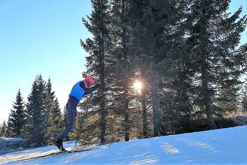 Tord Asle Gjerdalen i samband med La Diagonela i Visma Ski Classics sesongen 2019-2020. Foto: Privat.
