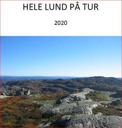 HELE LUND PÅ TUR 2020