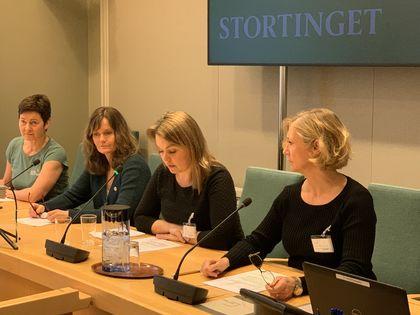 Nestleder FUG Marie Skinstad-Jansen i høring