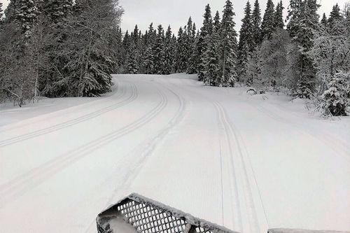 Snø i massevis og flotte forhold i forkant av Hafjell Ski Marathon 2020. Arrangørfoto.