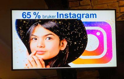 Instagram Barn og medier 2020