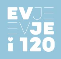 Logo Evje i 120