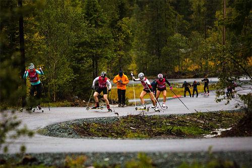 Rulleski i Meråker. Foto: Camp Meråker.