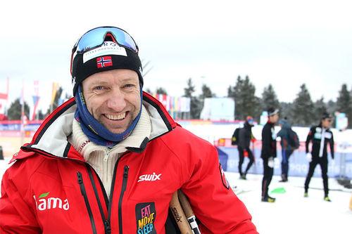 Odd-Bjørn Hjelmeset på Junior-VM 2020 i Oberwiesenthal. Foto: Erik Borg.