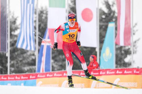 Martin Kirkeberg Mørk på Junior-VM 2020 i Oberwiesenthal. Foto: Marko Unger / Studio2media.
