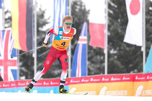 Iver Tildheim Andersen på Junior-VM 2020 i Oberwiesenthal. Foto: Marko Unger / Studio2media.