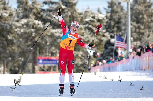 Helene Marie Fossesholm på Junior-VM 2020 i Oberwiesenthal. Foto: Marko Unger / Studio2media.