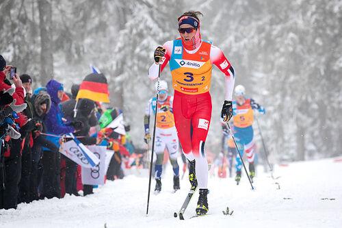 Håvard Moseby under U23-VM 2020 i Oberwiesenthal. Foto: Marko Unger / Studio2media.