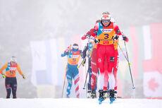 Marte Mæhlum Johansen under U23-VM 2020 i Oberwiesenthal. Foto: Marko Unger / Studio2media.