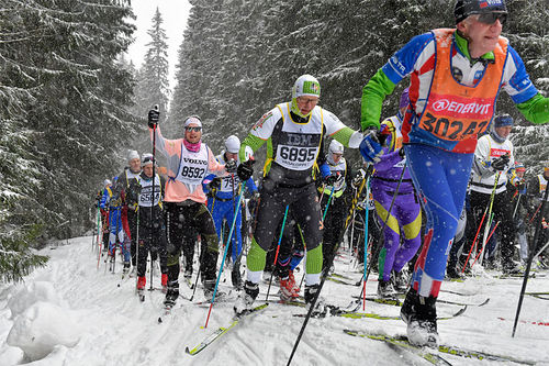 Vasaloppet. Foto: Schmidt/NordicFocus.
