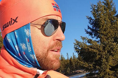 Tord Asle Gjerdalen i forbindelse med Visma Ski Classics-rennet Vasaloppet sesongen 2019-2020. Foto: Privat.