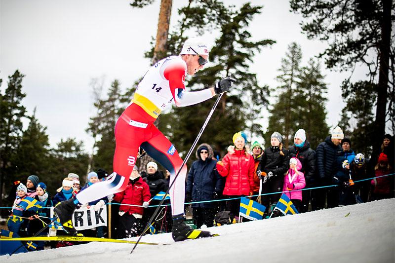 Gjøran Tefre var i føringen etter de 2 første av årets 3 planlagte runder i Skandinavisk Cup, men nå er altså finalerunden avlyst. Foto: Modica/NordicFocus.